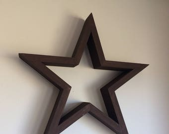 Rustic Wood Star