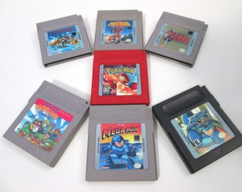 Game Boy Cartridge Replica Magnet Set!