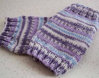 Baby Leg Warmers – handmade toddler clothes - Knitted kids present - baby shower gift