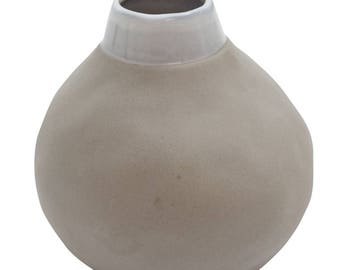 Gina Vase Large   - Grey