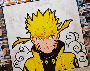 "Board Painting Naruto ""Six Path"""