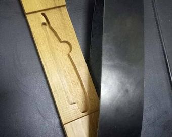 Custom straight razor case and Strop for Titan Razor