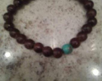 Wood grain bracelet