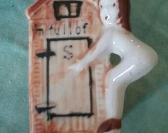 Antique salt shaker