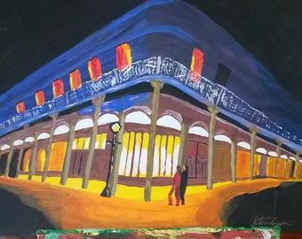 French Quarter by Night