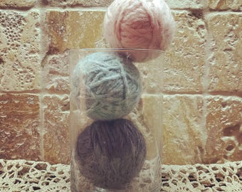 3 Wool Dryer Balls