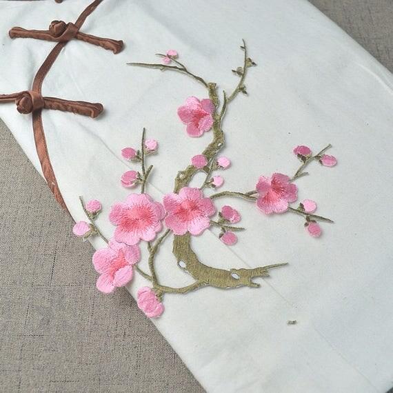 Blossom Applique Cherry Blossom Decor Flower Patch Floral