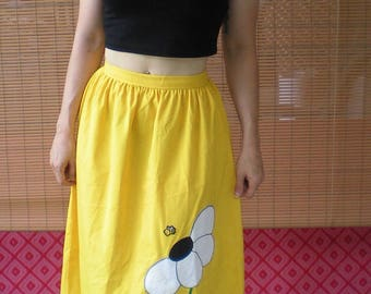Busy Bee Maxi Skirt