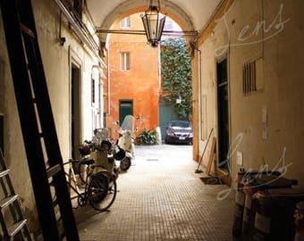 Photographic Roman Street Fine Art, Limited Edition