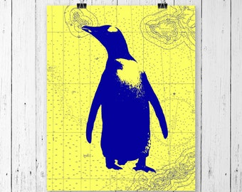 Penguin Print,  prints for nursery room, nursery Decor, girls room, wall decor nursery, home decor, wall decor, nursery wall art, art decor