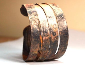 copper jewelry,copper bracelet,copper cuff bracelet,copper bracelet women, unusual gifts,unique, rustic copper bracelet, rustic copper cuff