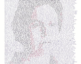 Harper Lee Word Portrait