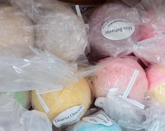 Bath bombs various scents