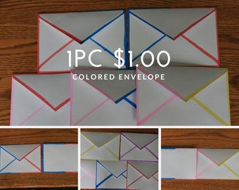 Colored Envelope