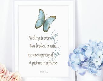Inspirational Message - Printable Art/Poetry/Verse by Natalie Ducey