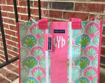Monogramed Market Bag/Everyday Bag: Lilly Pulitzer and Simply Southern