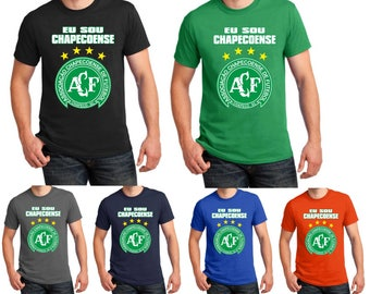 FC Chapecoense T shirt Brazil Football Soccer Tribute Birthday Gift 8 Different Colors Men Tee Top S-5XL