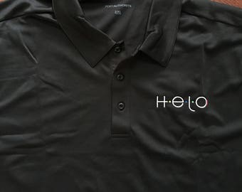 Men's Helo Embroidered Polo 2XL