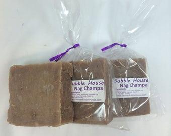 Nag Champa Soap  I  Nutrient-Rich Blend  I  Craft Soap