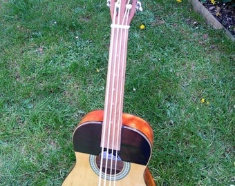 Fretless Bass Ukulele