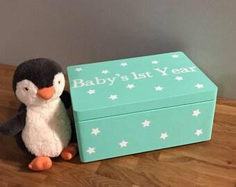 Baby's 1st Year Keepsake Box