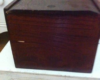 Beautiful Handmade Wooden Box for Storage