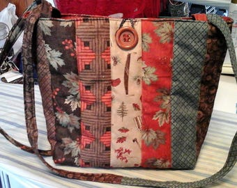 Soft Sided Quilted Purse