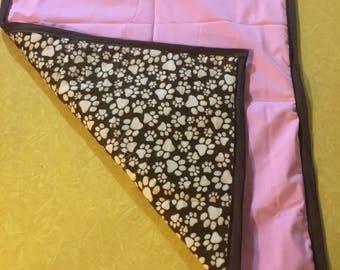 Bubble Gum Pink Blanket