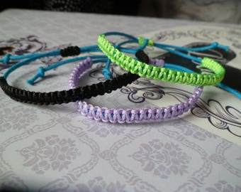 Bespoke Set of 3 Friendship Bracelets