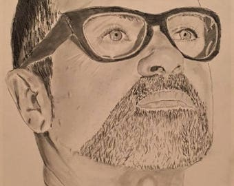 George Michael ORIGINAL sketch