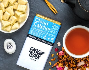 Cloud Catcher Tea Infused Fruit Infusion White Belgian Chocolate 100g