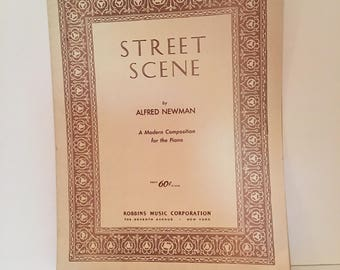 Street Scene by Alfred Newman