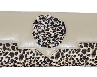 Cheetah Print Purse
