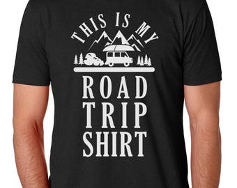 This Is My Road Trip Shirt Mens Shirt by Brain Juice Tees