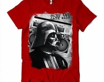 Tshirt Star Wars Enjoy the dark side