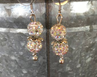 Handmade Sparkling Earrings