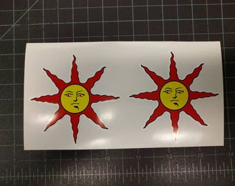Dark Souls Solaire Warrior of Sunlight Covenant 2 Decals