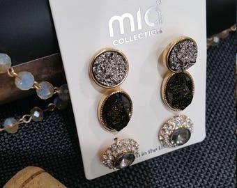 Gold Earring Set
