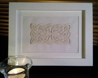 Embroidered Celtic Design Picture