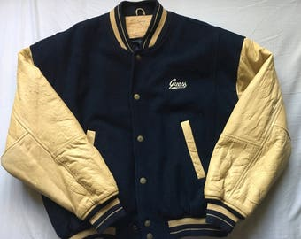 VINTAGE GUESS Varsity Jacket