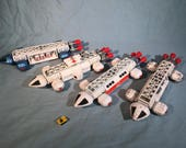 Dinky Space 1999 Eagle Pods and Accessories (Set of 4)