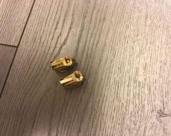 Vintage YSL rhinestone earring