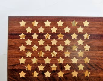 Stars Cutting Board - Cheese Board - Carving Board for Independence Day