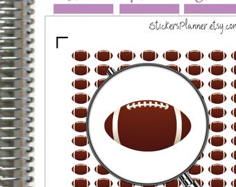 Rugby Stickers Planner Rugby Planner Stickers for Erin Condren Planner FootBall Rugby Ball Stickers for Training Game Reminders (i32)
