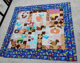 Henrietta Whiskers Quilt Top