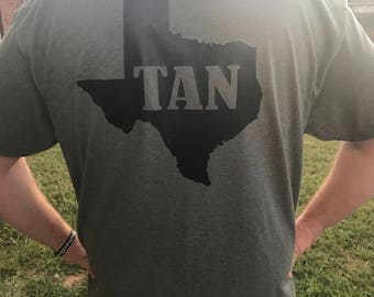 Texas tan shirt