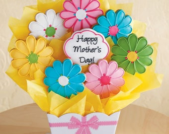 Mother's Day Spring Flower Bouquet SET