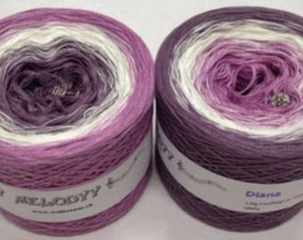Wolltraum 'Diana' 3 Ply Gradient Yarn