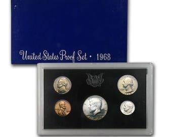 1968 U.S Uncirculated U.S. Proof Set
