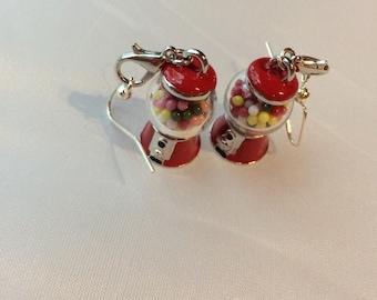 Gum ball Machine Earrings